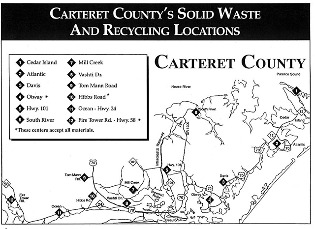 Solid Waste & Recycling   Carteret County, NC - Official Website